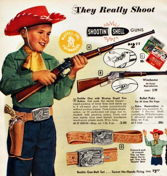Vintage shooting' shell ad