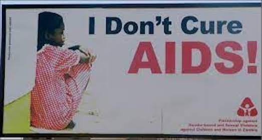 Poster - I don't cure AIDS!