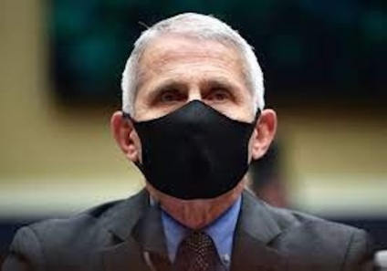 Anthony Fauci in mask