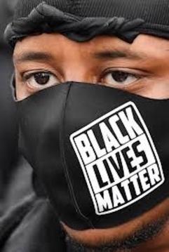 Black Lives Matter Covid mask