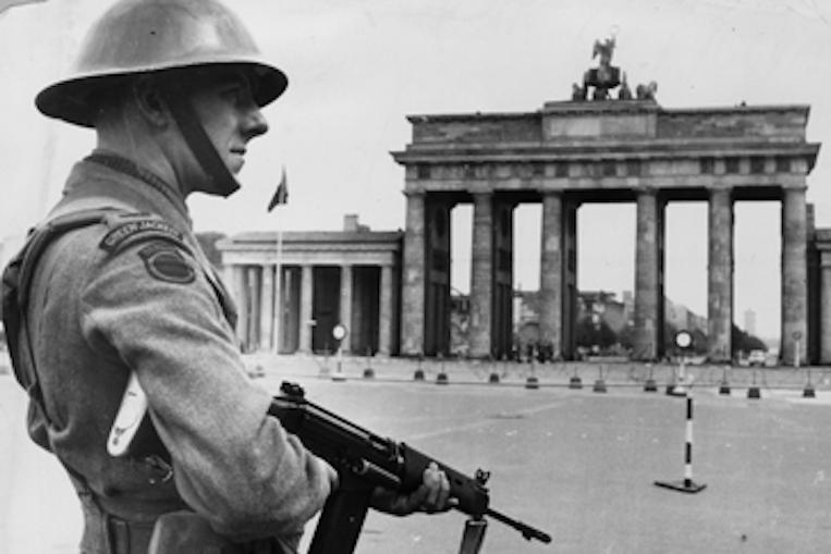 East Berlin border guard