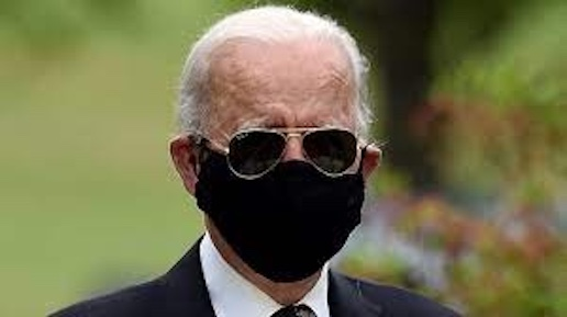 Joe Biden in mask
