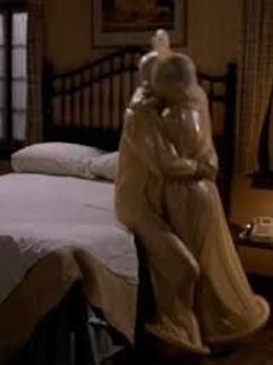 Leslie Nielsen and Priscilla Presley