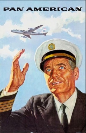 Vintage ad for Pan American Airlines